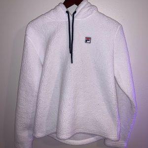 fleece fila jacket
